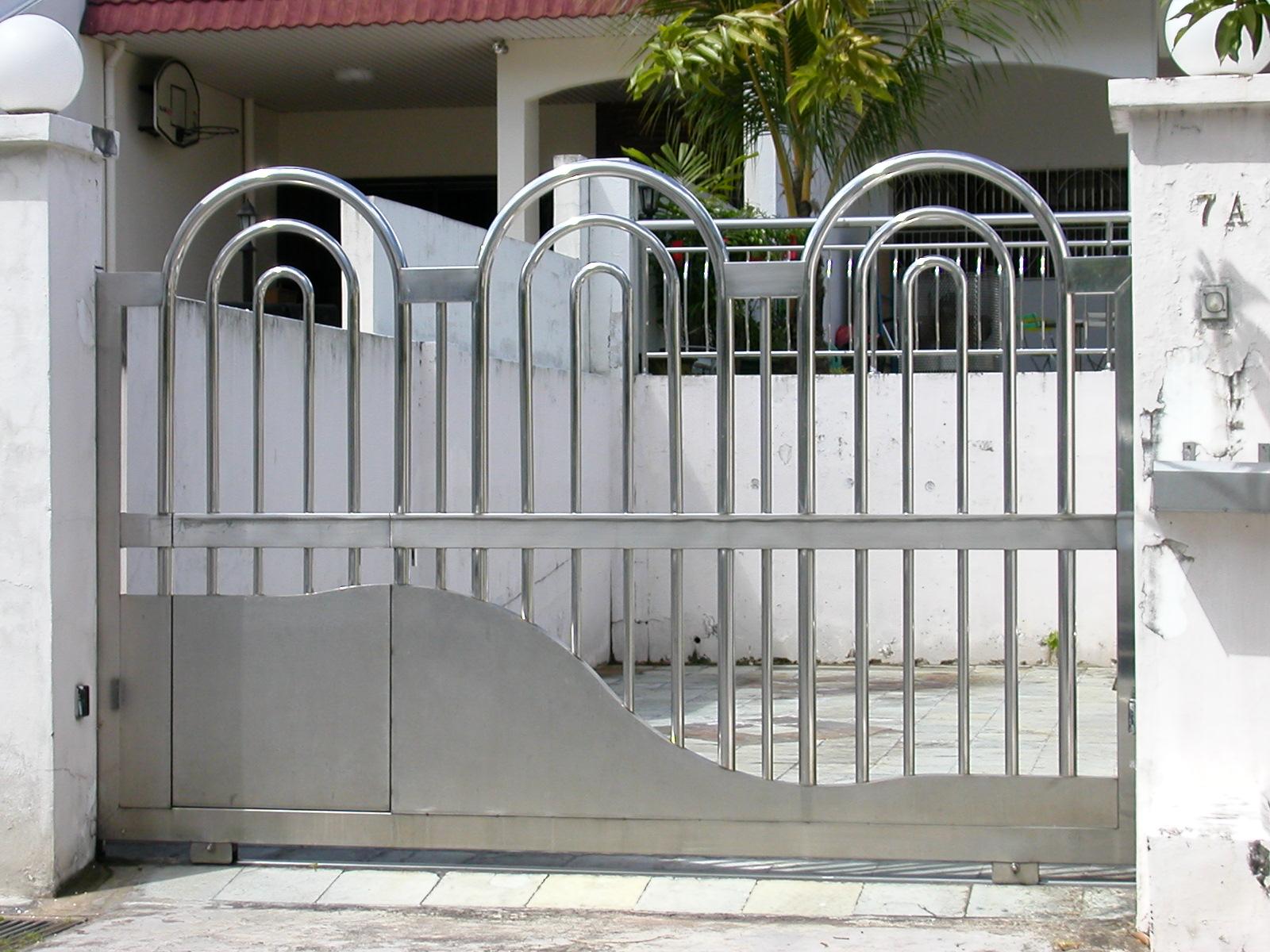 Gate designs stainless steel gates
